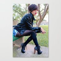 Fashion Pic Canvas Print