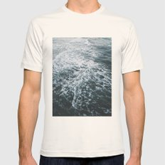 Undertow Mens Fitted Tee Natural SMALL