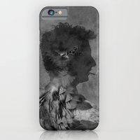 iPhone & iPod Case featuring A tribute to Alain Bashung by gwenola de muralt