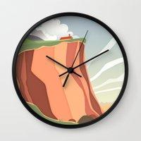 Fairy Landscape Wall Clock