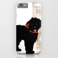 Black Labradoodle Dog iPhone 6 Slim Case