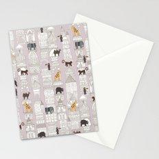 urban jungle blush pink Stationery Cards