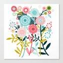 Wild Bouquet Canvas Print