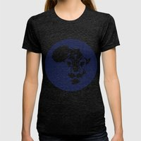 Afriking Womens Fitted Tee Tri-Black SMALL