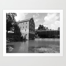 bollinger mill 4 Art Print
