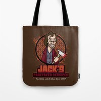 Jack's Caretaker Service… Tote Bag