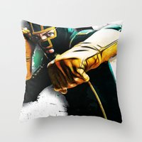 Dave Lizewski Throw Pillow