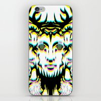 GOD II Psicho iPhone & iPod Skin