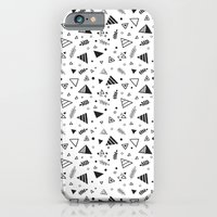iPhone & iPod Case featuring Organic Triangles by Reg Silva / Wedgienet.net