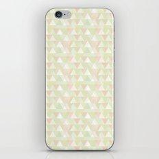 Pastel triangles iPhone & iPod Skin