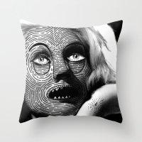 M A S K Iii Throw Pillow