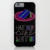 iPhone & iPod Case featuring Cake by Krysti Kalkman