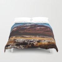 South Island Glacier Duvet Cover