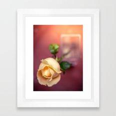 {notice me} Framed Art Print
