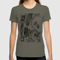 Falling Up Womens Fitted Tee Lieutenant SMALL