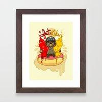 Fat Kids Framed Art Print