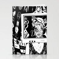 Hallo Mädchen Stationery Cards