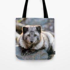 Vulpes Lagopus Tote Bag