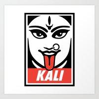 Obey Kali Art Print