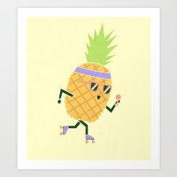 Summer Rollin Art Print