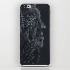 Black and white portrait  iPhone & iPod Skin