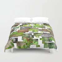 The Mind Seeks Someone Eternal  Duvet Cover