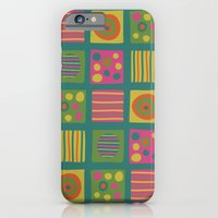 iPhone & iPod Case featuring Eye Candy [Squares] by Veronica Galbraith