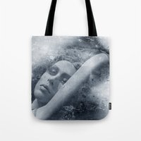 Modeled Tote Bag