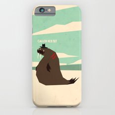 W is for walrus iPhone 6 Slim Case