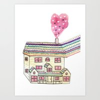 Dream Home Art Print