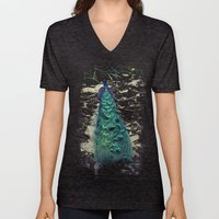 Peacock Dream Unisex V-Neck