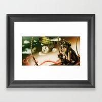 Steampunk Flight Framed Art Print