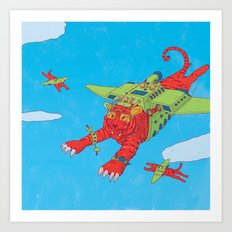 Flying Tigers Art Print