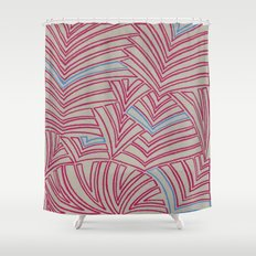 Tight Flock 3 Shower Curtain