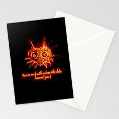 Majora's Mask Fire Stationery Cards