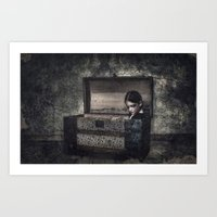 What the Attic Found Art Print