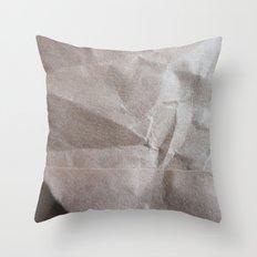Brown bagging it. Throw Pillow