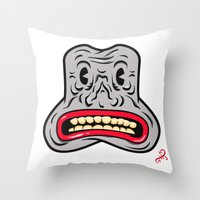 Happy Joy Vibrations Throw Pillow