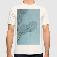 The screen Mens Fitted Tee Natural SMALL