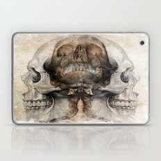 3 Grunge Skulls Laptop & iPad Skin