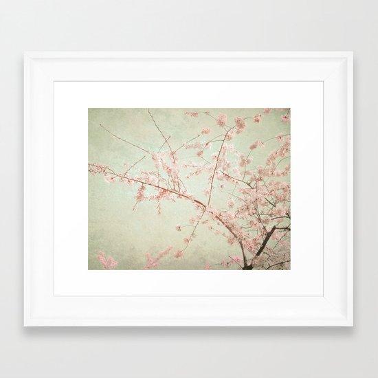 """""""Pink Rapture"""" Framed Art Print"""