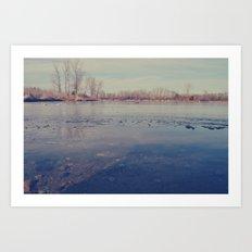 Ice Cold Art Print