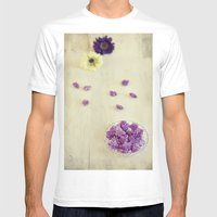 Violet sweets Mens Fitted Tee White SMALL