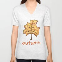 Happy Autumn Unisex V-Neck