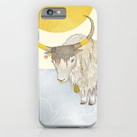 iPhone & iPod Case featuring Yak by moodgraphics