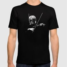 Dark Violinist Fett SMALL Black Mens Fitted Tee