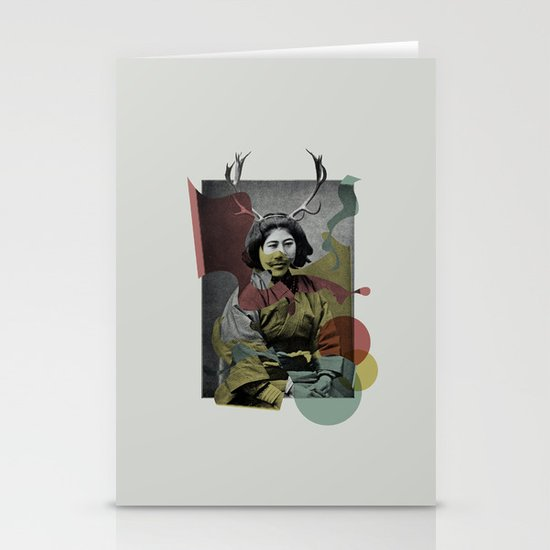 Geisha Stationery Card