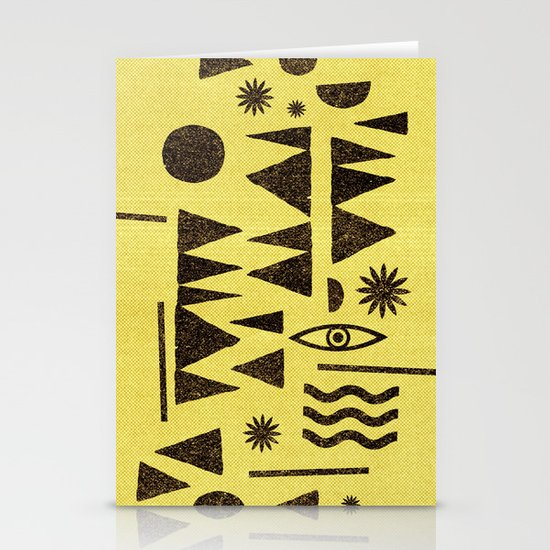 Tangential Paralysis. Stationery Card