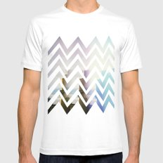 in front Mens Fitted Tee SMALL White