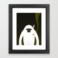 PERFECT SCENT - BIGFOOT … Framed Art Print